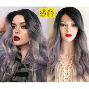 "20"" Sliver Icy Platinum Wavy Lace Wig | Tammy"